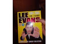 Lee evans dvd box set