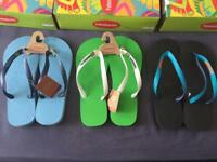 Havaianas Flip Flops, Brand New, 3 Colours To Choose From
