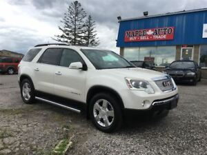 2007 GMC Acadia SLT2 - DVD - LEATHER - MOONROOF -
