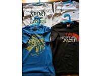 Kids designer t shirts size 5-6yrs