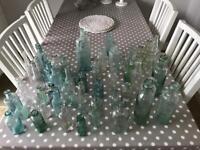 Apothecary Green Glass Jars Wedding Etc
