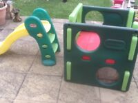Toddlers slide and climbing/crawling cube/square-dismantles easily-no tools required for assembly