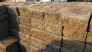 "Garden Edging Bricks (8""x8x4 1/2"") - $1.50 / per brick"