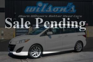 2012 Mazda MAZDA5 GT 2.5L 6-PASS! HEATED SEATS! $53/WK, 4.74% ZE