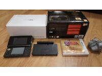 Selling Nintendo 3DS The Legend Of Zelda 25th Anniversary Limited Edition Black & Gold