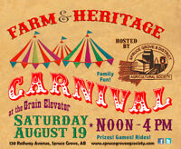 Carnival Volunteer Help Needed - Saturday Aug 19!