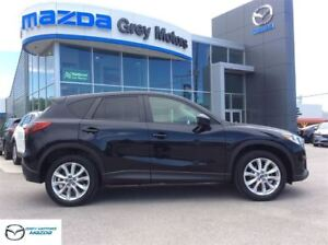 2014 Mazda CX-5 GT, P.Sunroof, Heated leather, Nav, One Owner!