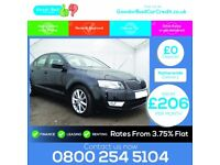 2014 Skoda Octavia 2.0 TDI DSG car credit / finance available from £206 per month