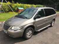 Chrysler Voyager 2004 2.7 Diesel 7 seater bus with lots of space