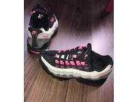 Nike air max 95 black/pink/grey