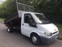 Ford transit tipper 90 t350 Diesel MWB (05) REG 7 months MOT NO VAT 1 owner from new
