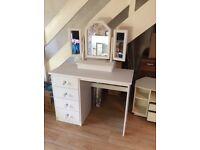 Refurbished Dressing Table & Mirror