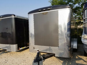 This Weeks Special: Charcoal 7 x 14 Enclosed Cargo Trailer