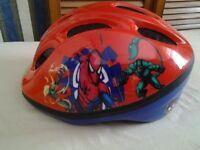 Boys Spiderman Helmet