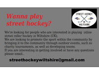 Wanna play Street Hockey?