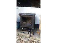 Stanford S13 multifuel stove woodburner,