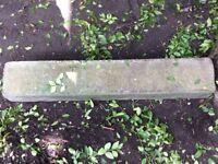 Concrete curb for pavement