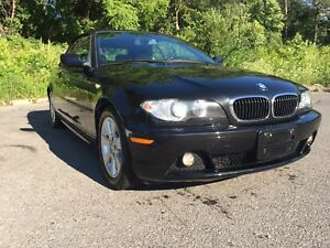LIKE NEW 2005 BMW 325ci CONVERTIBLES In Black