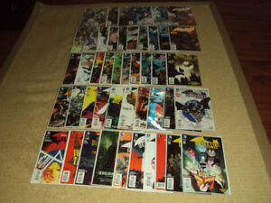 57 DC COMICS, BATMAN: DETECTIVE COMICS, COMPLETE SET