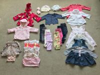 0-3 girls bundle of clothes (discount if you buy more than 1 bundle)
