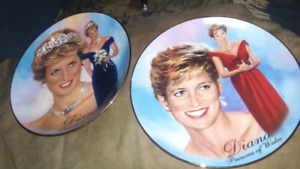 Lady Diana plates reduced to 20.00