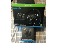 Xbox One Logitech G Force G920