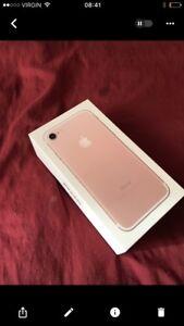 I phone 7 rose 32gb 800$