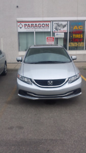2015 Honda civic.automatic.finance available