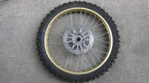 Yamaha TTR 230 Front wheel and Rotor