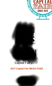 Capital Fair Mega-Pass e-ticket