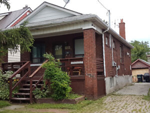 Upper level of house to rent - 1bdrm + den, deck and lovely yard