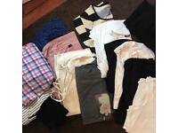 Bag of assorted maternity clothes
