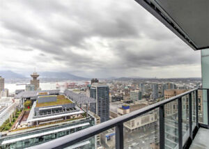 Furnished 3 bedrooms + Flex at Telus Garden, Vancouver downtown