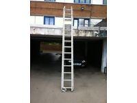 Aluminium 3 storey industrial ladders