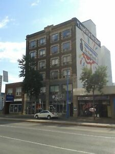 Heritage building downtown - suites available!