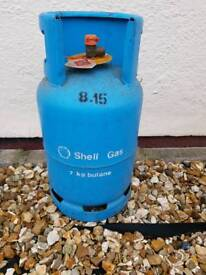 Shell gas 7kg butane caravan or camping bottle