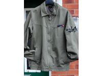 Quiksilver Khaki Green Casual Jacket - Size L