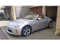 Rare Convertible Nissan 350Z with leather trim (Fairlady Z Import)