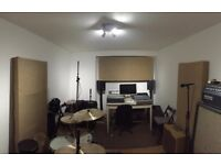 Professional Music Recording Studio, Rehearsal Space in Archway - N19