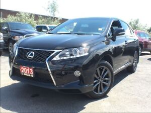 2013 Lexus RX 350 F SPORT**NAVIGATION**BACK UP CAM**SUNROOF**