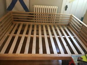 Double daybed frame