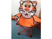 Childs Tiger camping chair