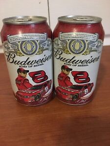 NASCAR/ Budweiser Dale Earnhardt full can beer collectors