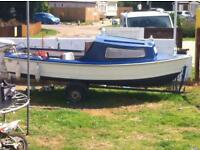 Fishing boat for sale.
