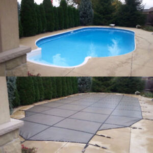 SWIMMING POOL SAFETY COVERS ***Free Closing Included***