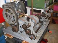 Small metal work lathe