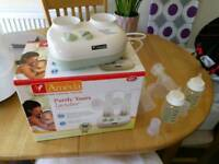Ameda Electric and Battery Double Breast Pump