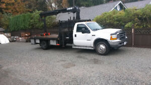 ford 550 xlt auto  full power  remote start  theft security hiab