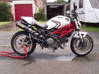 ducati monster796 immaculate condition must be seen very low mileage lots of extras