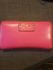 Kate Spade Pink Wallet - Authentic